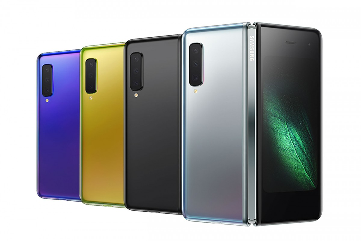 samsung galaxy fold test machine pliage