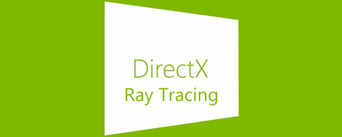 carte-additionnelle ray-tracing microsoft-dxr