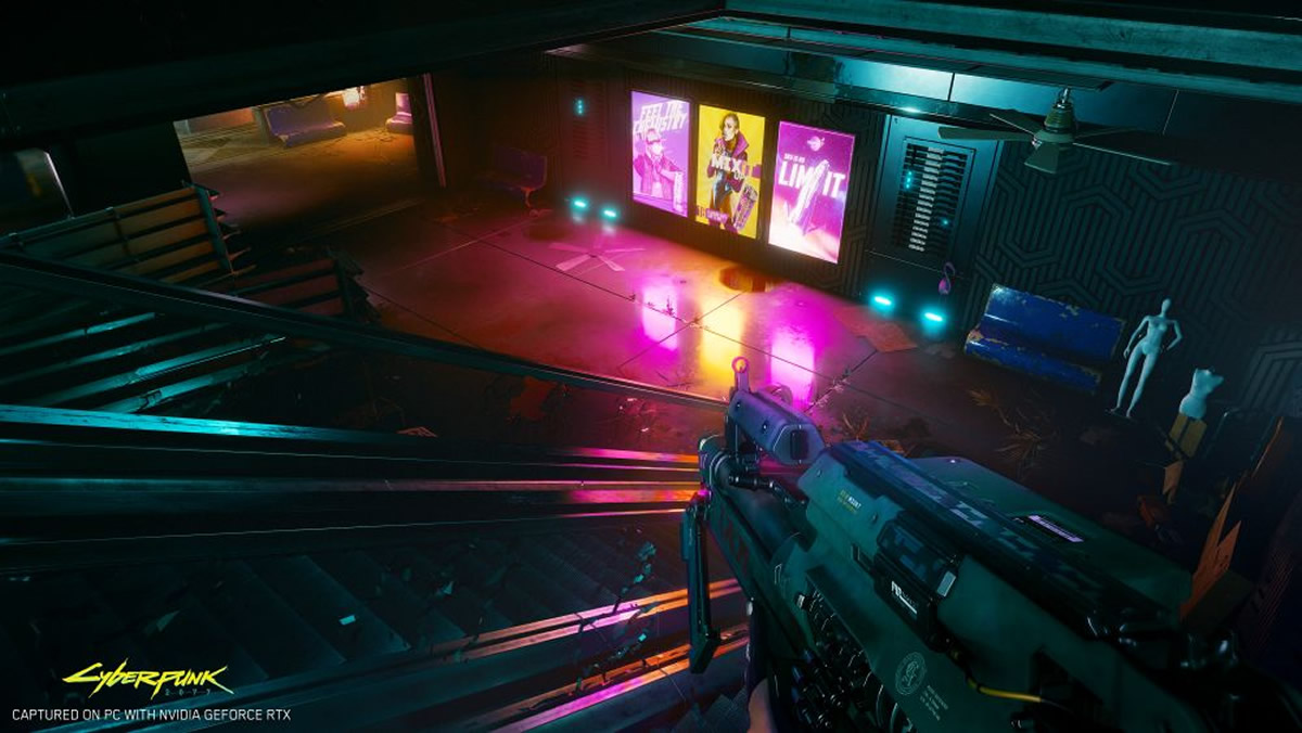 jeux-pc jeux-rtx nvidia cyberpunk2077 ray-tracing
