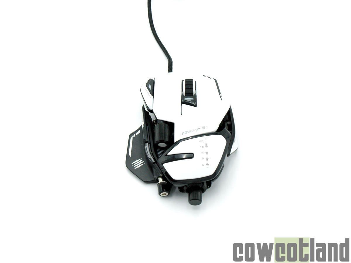 Test souris Gaming Mad Catz R.A.T. 8 +