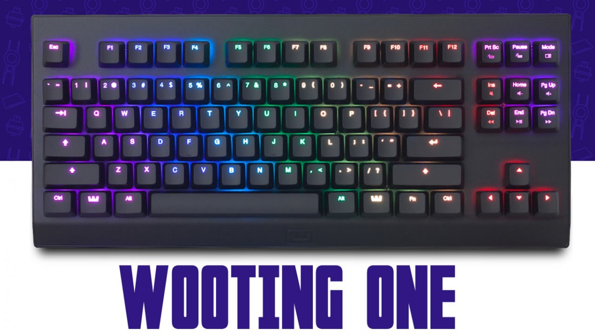 Présentation clavier Gaming Wooting-One