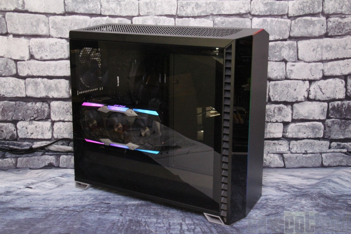 test boitier Fractal Design Vector-RS