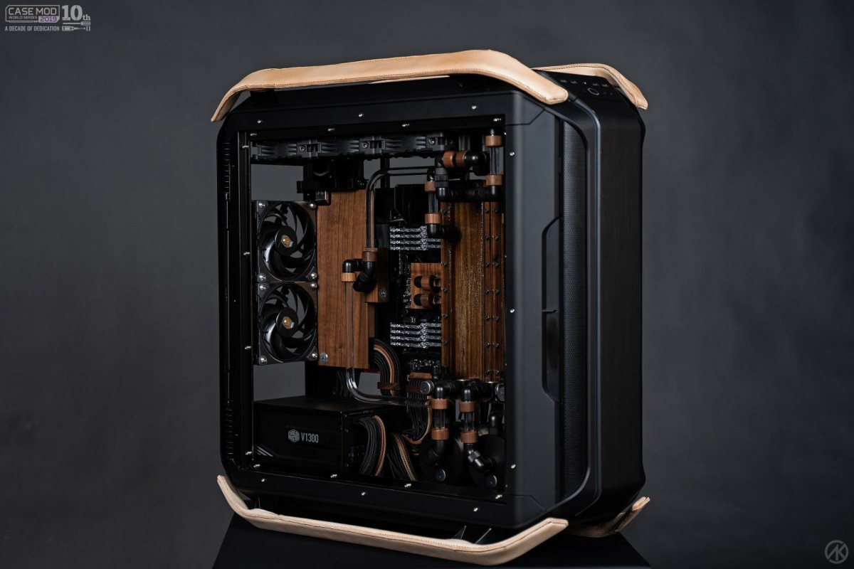 case-mod-world-2019 cooler-master Projet-Minimalistic