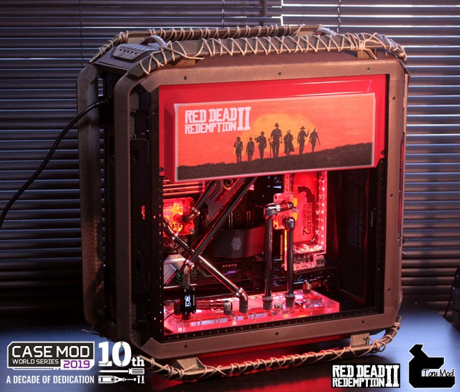 case-mod-world cooler-master red-dead-redemption-2