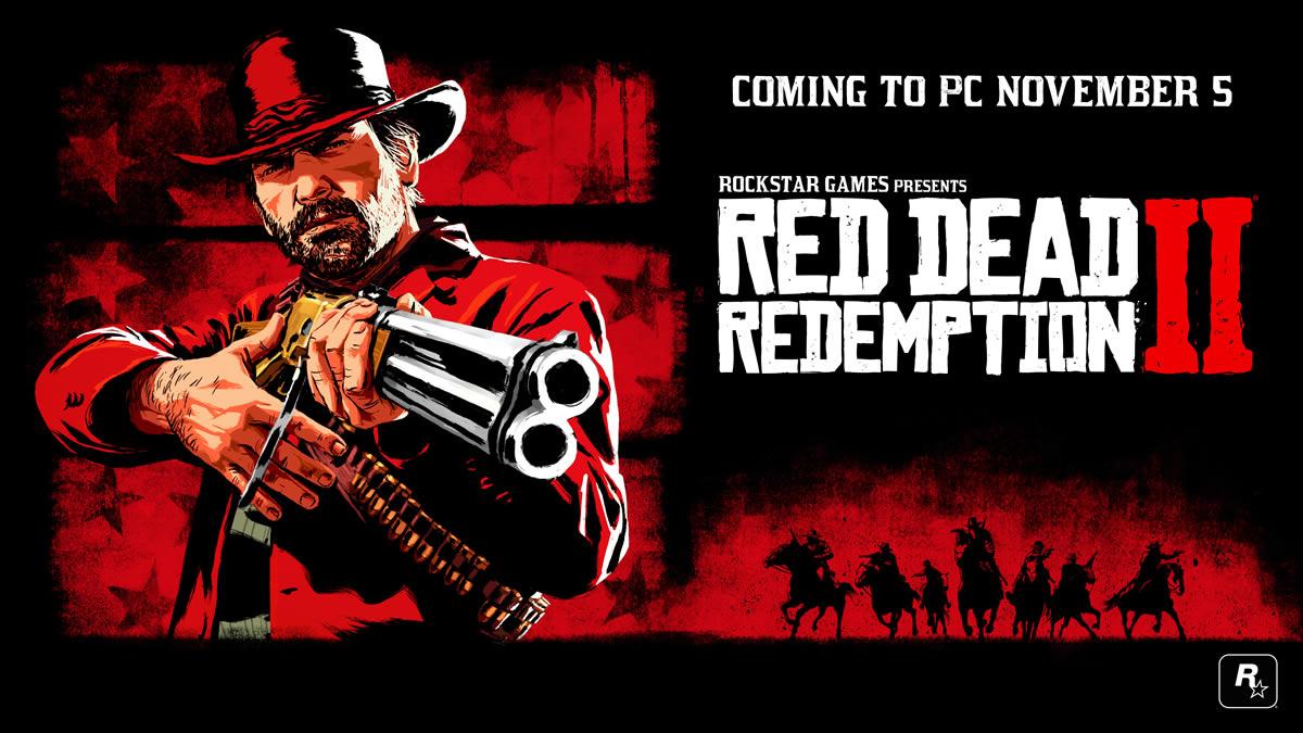 Rockstar Games annonce la sortie de Red Dead Redemption 2 sur PC pour le 5 novembre