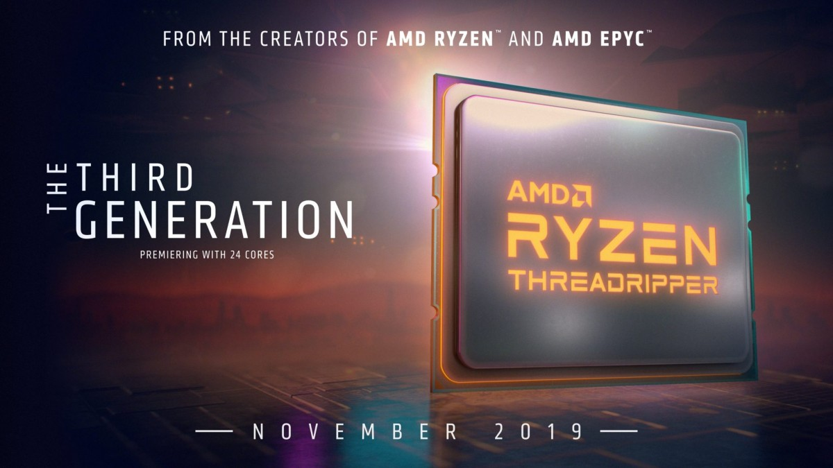AMD ryzen threadripper ryzen-threadripper-3000 cpu-amd