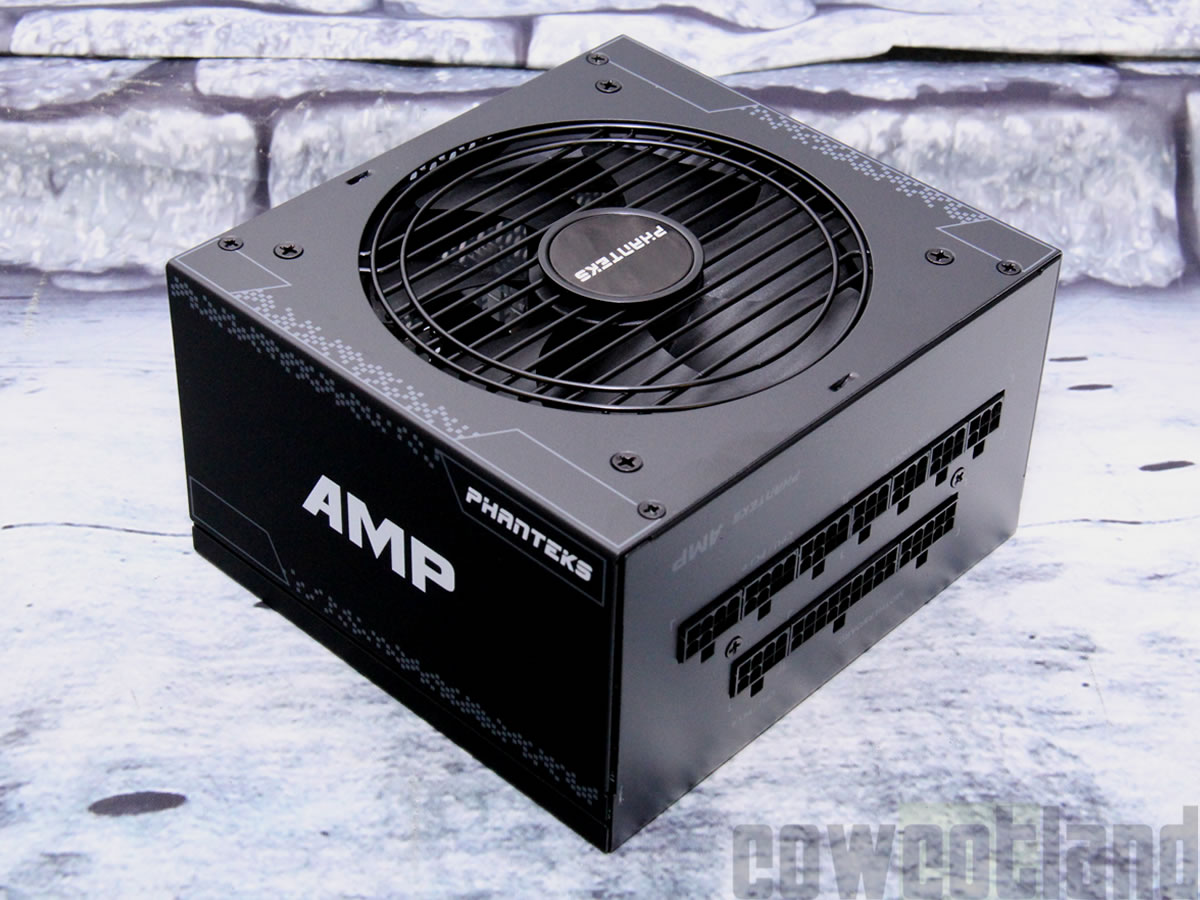 Test alimentation Phanteks AMP 750-watts