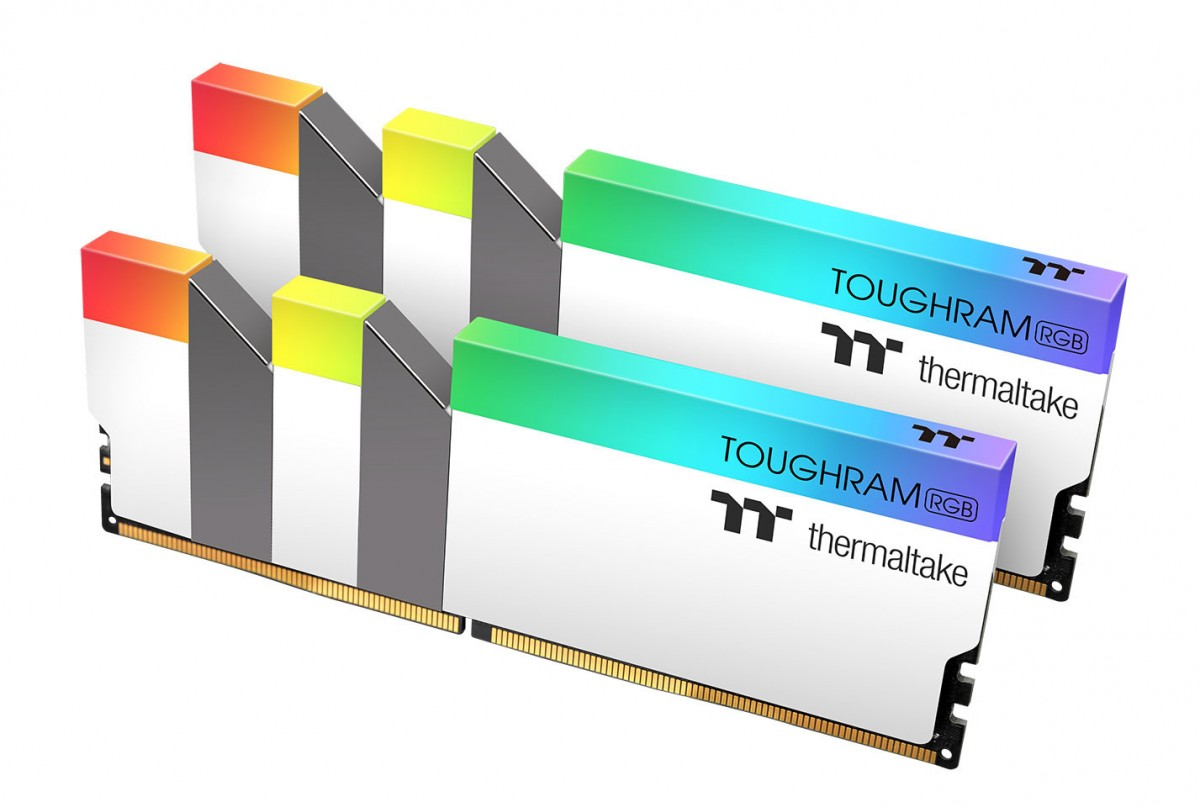 thermaltake toughram ddr4 white-edition
