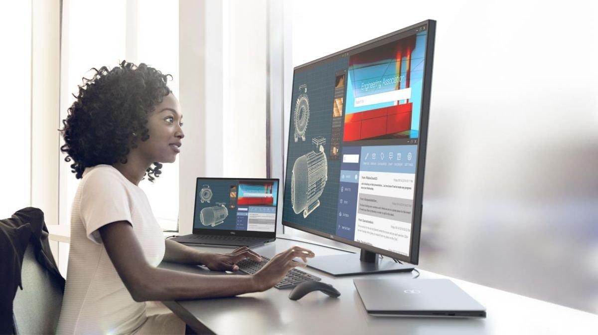 CES 2020 : Dell annonce un nouvel écran UltraSharp avec une dalle IPS UHD en 43 pouces