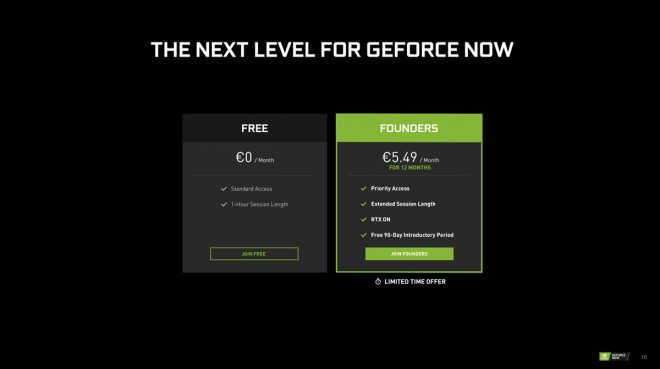 ouverture service-cloud-gaming nvidia-GeForce-NOW GeForce-NOW