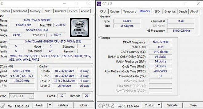 intel corei910900k