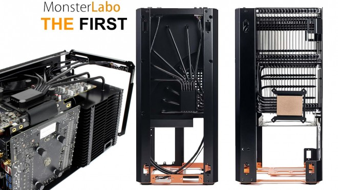 Présentation boitier ITX passif MONSTERLABO THE FIRST