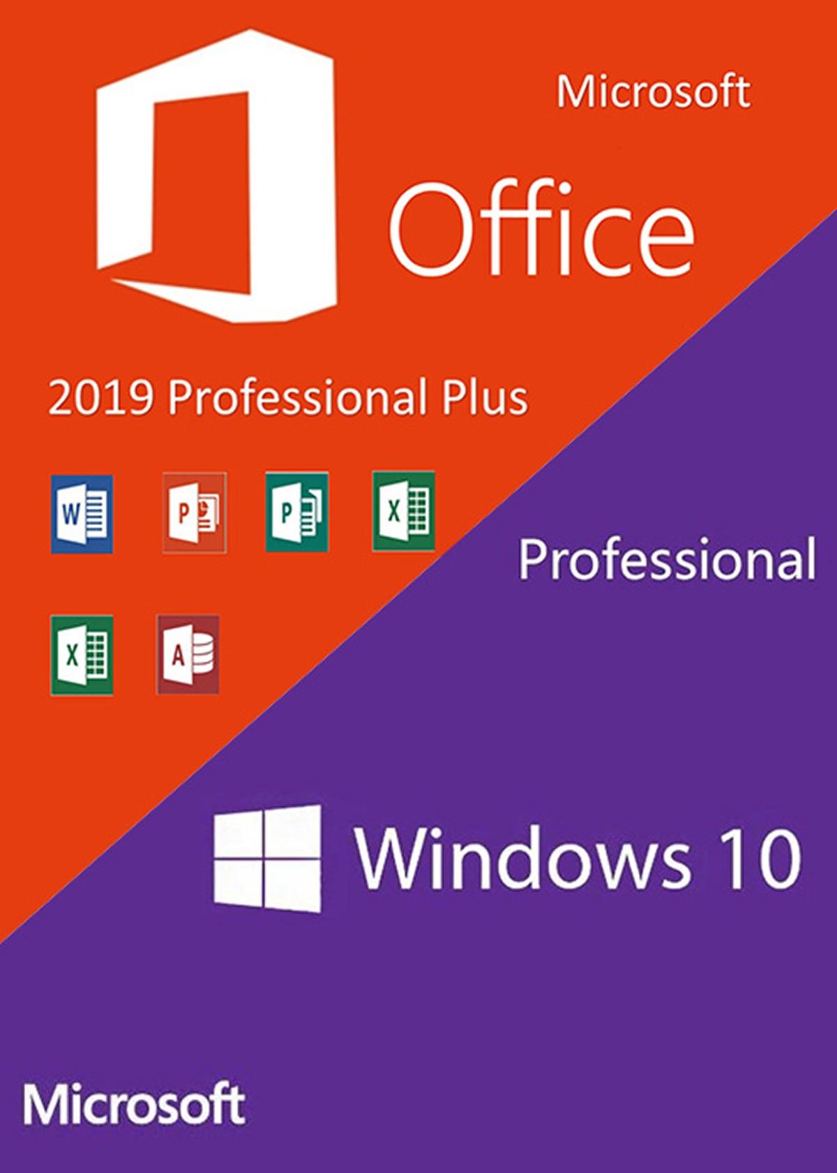 Microsoft Windows 10 Pro OEM et Office 2019 Pro Plus à 38.52 euros ce jour chez GVGMall