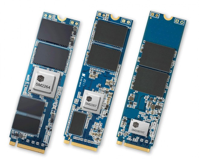 controleur ssd pci-express-4 silicon-motion