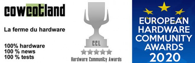 Cowcotland Community Awards 2020 ecran philips concours