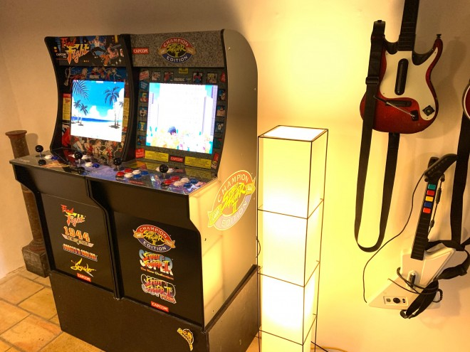 bon-plan deal borne arcade 1up street-fighter II