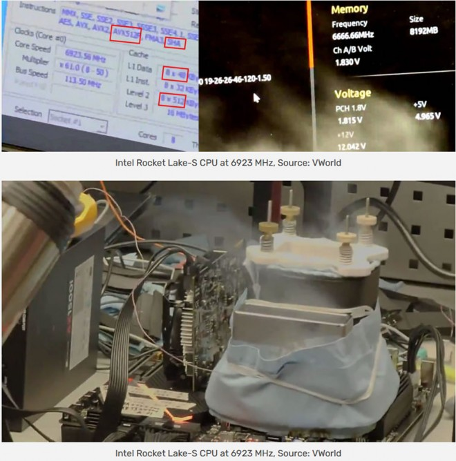 overclocking processeur intel core-i9-11900k 7000-mhz