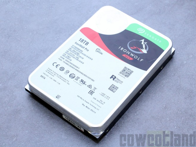 test disque dur seagate ironwolf pro nas 18-to