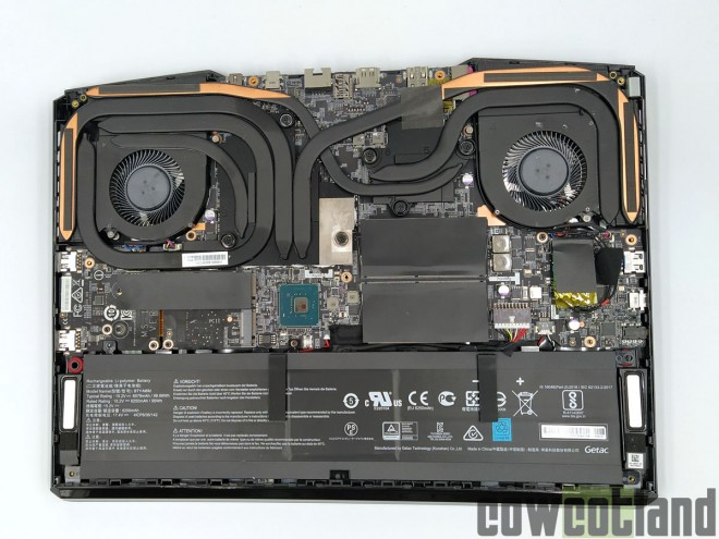 Test ordinateur portable MSI GE66 Raider 10SGS cowcotland
