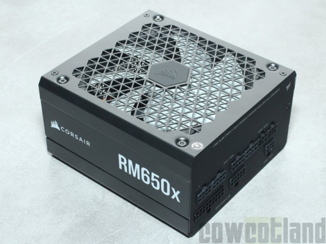 Test alimentation CORSAIR RM650x Cowcotland