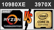Core i9-10980XE, Threadripper 3960X, Threadripper 3970X : Intel versus AMD