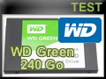 Test SSD WD Green 240 Go
