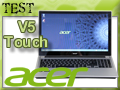 Test portable Acer Aspire V5 Touch
