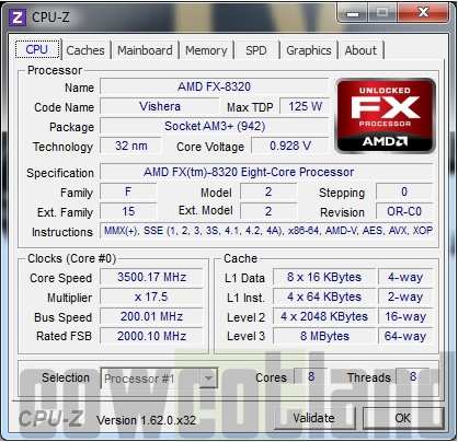 articles  test processeur amd fx