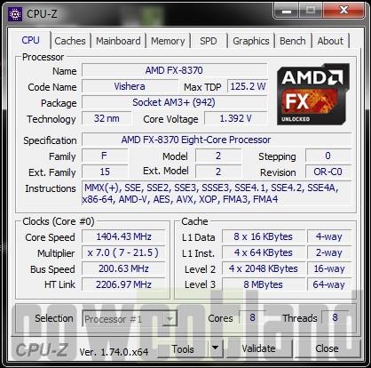 Test processeur AMD FX8370 : Introduction, page 1