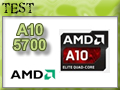 Test processeur AMD A10-5700