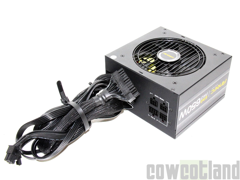 image 34799, galerie Test alimentation Antec Earthwatts Gold Pro 650
