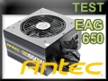 Test alimentation Antec Earthwatts Gold Pro 650