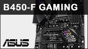 Test carte mère ASUS ROG Strix B450-F GAMING