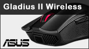 Test souris ASUS ROG Gladius II Wireless