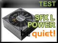 Test alimentation be quiet! SFX L POWER 600 watts