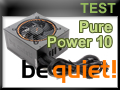 Test alimentation be quiet! Pure Power 10 700 watts