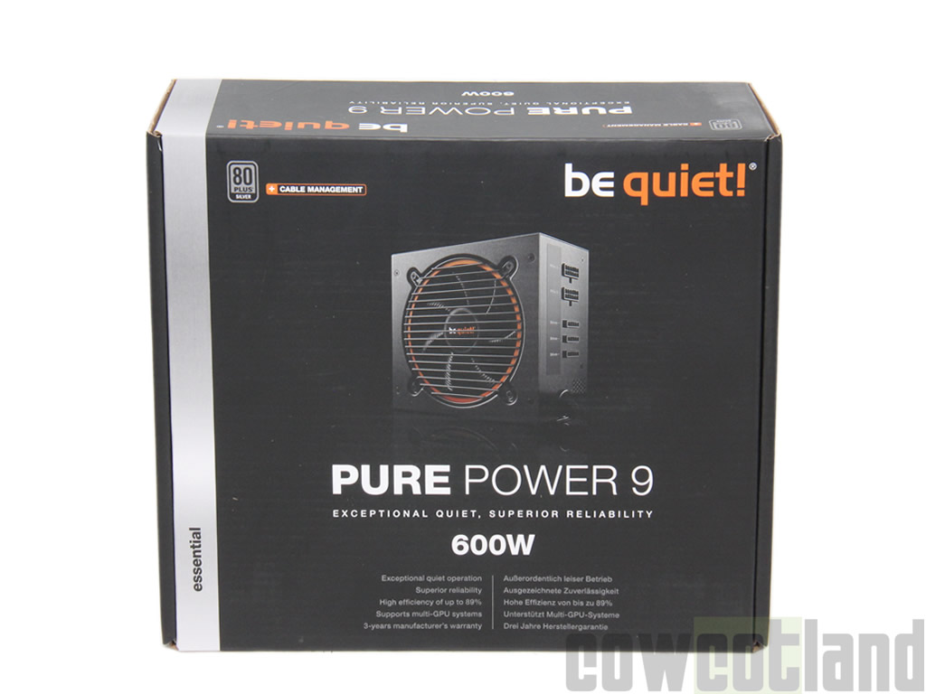 image 29955, galerie Test alimentation be quiet! Pure Power 9 600 watts