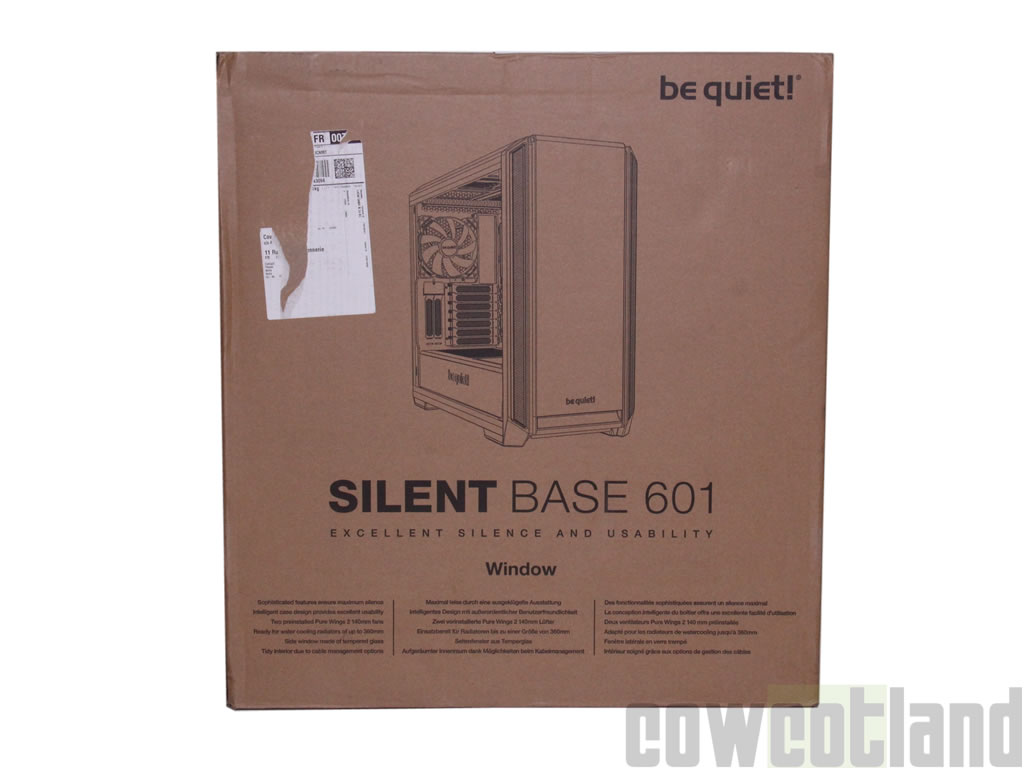 image 36988, galerie Test boitier be quiet! Silent Base 601