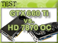 Nvidia GTX 660 Ti vs. AMD HD 7870 OC