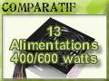 13 Power 400 to 600 watts