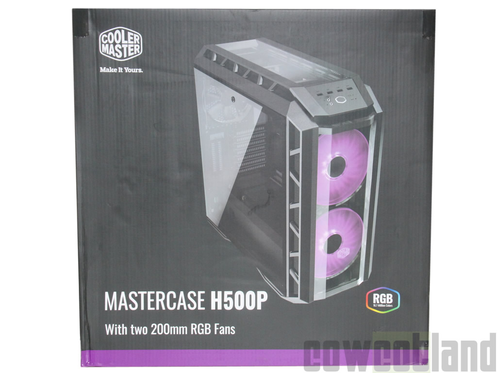 image 34255, galerie Test boitier Cooler Master Mastercase H500P