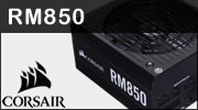 Test alimentation CORSAIR RM850 édition 2019