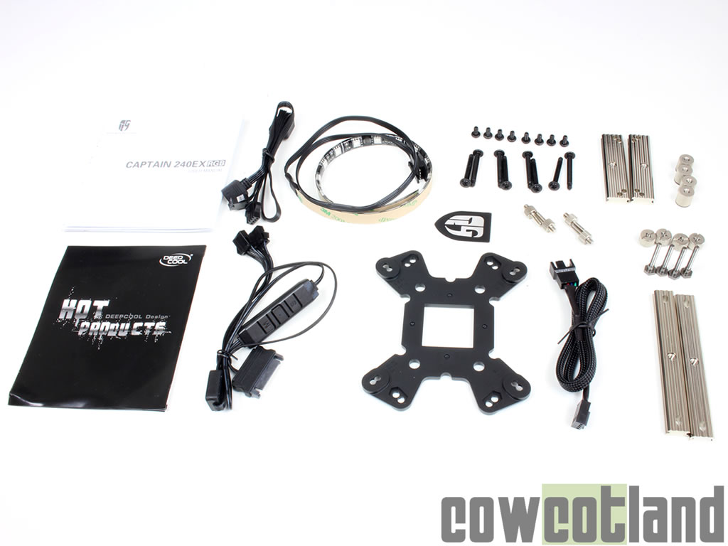 image 33618, galerie Watercooling AIO Deepcool Captain 240 EX RGB