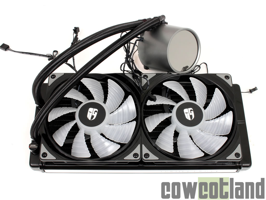 image 37283, galerie Watercooling AIO Gamer Storm Castle 280 RGB