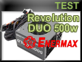 Test alimentation Enermax Revolution DUO 500 watts