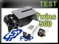 Test alimentation FSP Twins 500