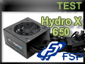 Test alimentation FSP Hydro X 650 watts