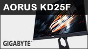 Test écran GIGABYTE AORUS KD25F (Full HD, 240Hz, FreeSync)
