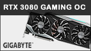 Test carte graphique GIGABYTE RTX 3080 Gaming OC, le gaming comme ADN