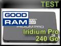 Test SSD Goodram Iridium Pro 240 Go